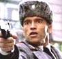 Photo of Arnold wearing an ushanka