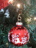 Picture of New Year's tree with ornament